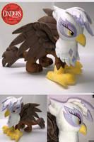 Gilda the Griffon Plush by CindersDesigns