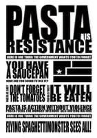 pasta is resistance by doridoreau