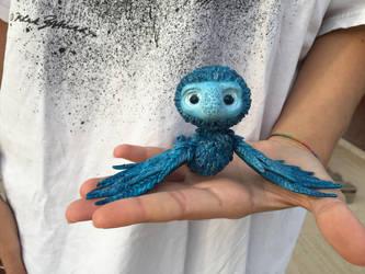 Little dragon creature  by StuffAnClay