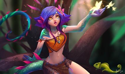 Neeko (league of legends) by EvBel