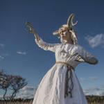 Slavic demon by Anhen