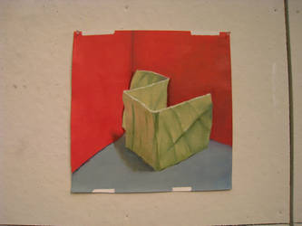 Paper Still Life in Oils - Third Pass by Alexios2
