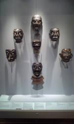 Samurai Masks by Gentleman-Jack-Red