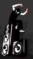 man on speaker by RussianPunx