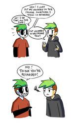 Sarcasm on point by Vey-kun