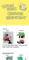 Sitcom Series Characters development by Vey-kun