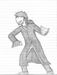 Xosu Character Art by Vampiricvirus