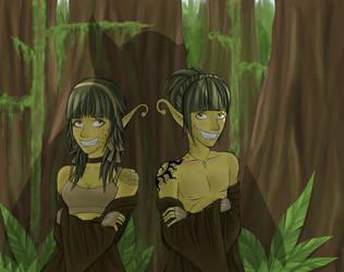 Twins by sugartigar