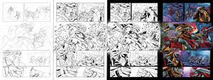 Halo BL 1 page 18 work process by PORTELA