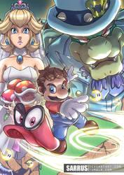 Mario Odyssey by sarrus