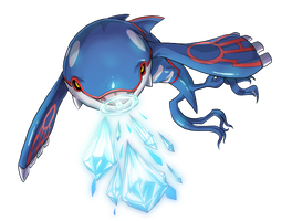 -- Pokemon Gen III tribute -- Kyogre by sarrus