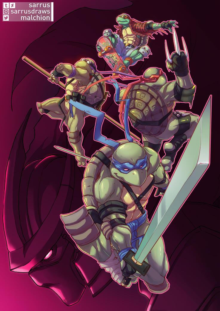Turtle Power! by sarrus