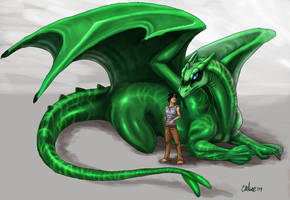 Commish: T'zyn and Nymerith by Chelsee