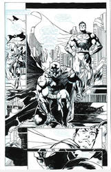 Jim Lee's pencils,inks by antgarcia by antgarcia
