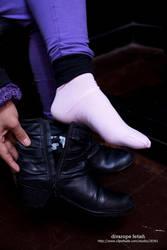 Barbara's socks by DivaRope