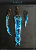 Weapon set Lineage 2 by Urchina