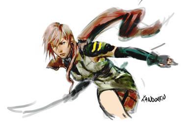 Lightning rough by Kandoken