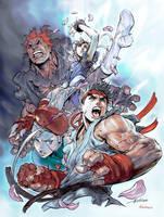 Imagine FX - Street Fighter Cover by Kandoken