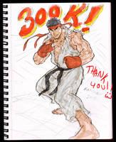 300,000 VIEWS!! by Kandoken