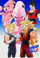 DRAGON BALL Z KID BUU SAGA by Kandoken
