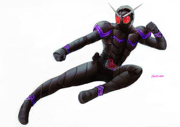 Kamen Rider Joker by Kandoken