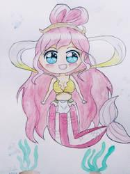 Princess Shirahoshi chibi by epeldoll