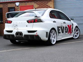 Mitsubishi Lancer Evo X by klimentp