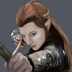 Tauriel by WolfDefender01
