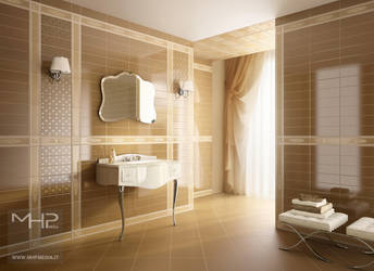 Russian Bathroom by lolloide