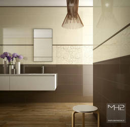 Minimal_Bathroom by lolloide