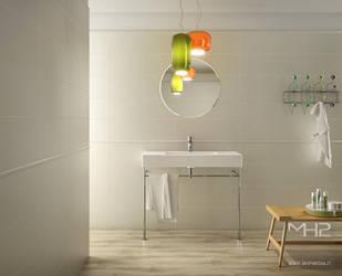 White_Bathroom by lolloide