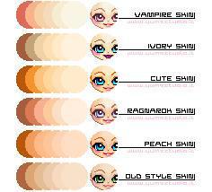 Skin Palette by elemberie