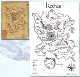 Mapa de Kether by mushisan