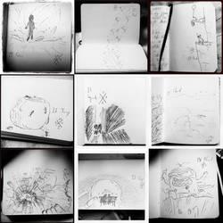 Inktober 2017 (days 19-27) by mushisan