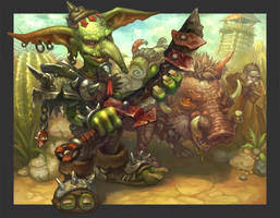 Goblin by AntonZemskov