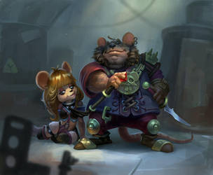 Mouses by AntonZemskov
