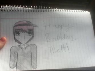 Happy Belated Birthday Matt! by FanficAvenue