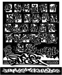 Donated Alphabet by ruseone