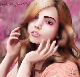 Lila ilustracion by ferchito1w08