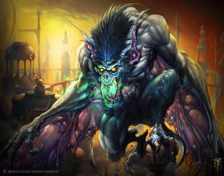 Gargoyle by Wreckonning