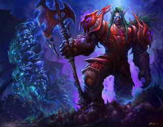 Valathar Blackstorm by Wreckonning