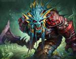 Naga Royal Guard by Wreckonning