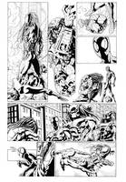 Spiderman vs Predator page3 by cuccadesign