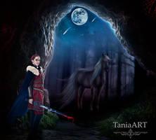 Warrior by TaniaART