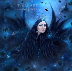 The Morrigan by TaniaART