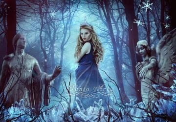 Winter Queen by TaniaART