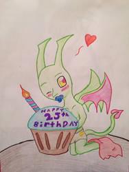 happy birthday DisneyandZimFantic by animeandgammer