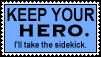 No Heroes - Sidekicks by Scarecrow--Stamps