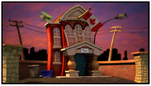 Post Office Toon Town by fallonclarke