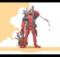 Deadpool by ChristianNauck